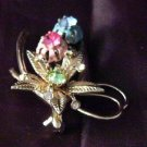 are you lucky Pin rhinestones wishbone Vintage