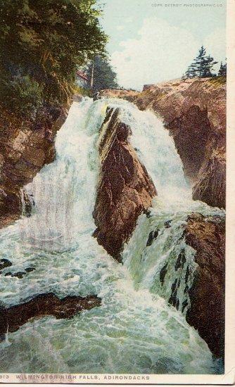 Postcard PC Wilmington High Falls Adirondacks 1918
