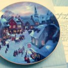 1988 Christmas Eve Collectors Plate Garrison W.S. George
