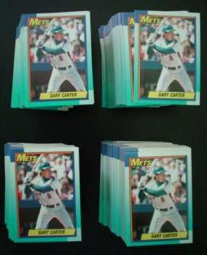 Gary Carter New York Mets Baseball Cards - ** FREE SHIPPING **
