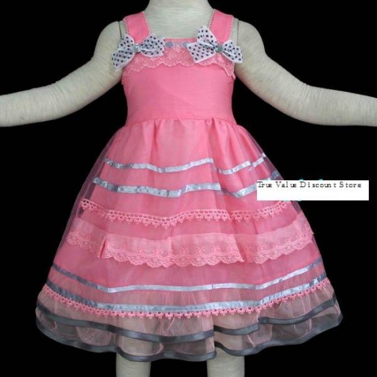 Brand New with Tag Beautiful girl dress for Special Occasion Pink size 3/3T
