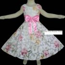 Brand New with Tag Beautiful girl dress for Special Occasion Floral Size 6