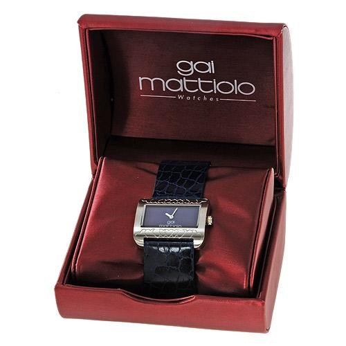 NEW IN BOX STAINLESS STEEL LADIES WATCH LEATHER ITALY NEW IN BEAUTIFUL CASE