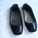 GORGEOUS NEW IN BOX LADIES BLACK SHOE FLAT BALLERINA SIZE 6.5