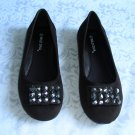 GORGEOUS NEW LADIES BROWN SHOE FLAT BALLERINA SIZE 7.5
