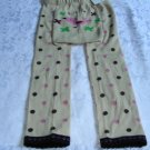 NEW BABY UNISEX LONG PANTS EMBROIDERY SIZE 24-36 MONTHS WITH TAG