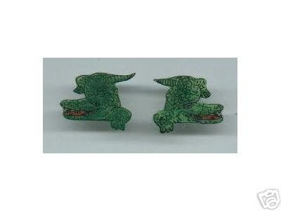 ALLIGATOR  HANDPAINTED EARRINGS OTHER REPTILES TOO