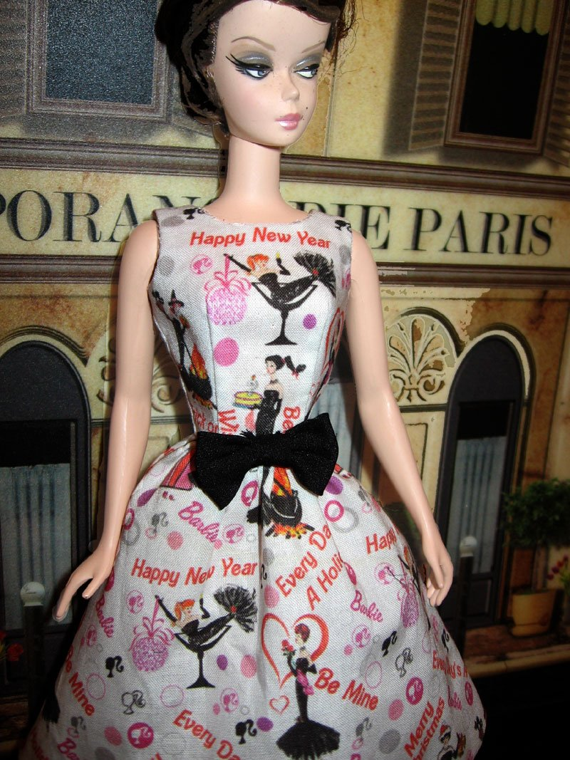 Silkstone Barbie Dress Every Day S A Holiday 2014