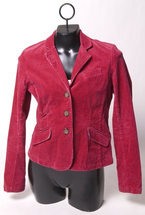 Hot Pink Courdoroy Blazer