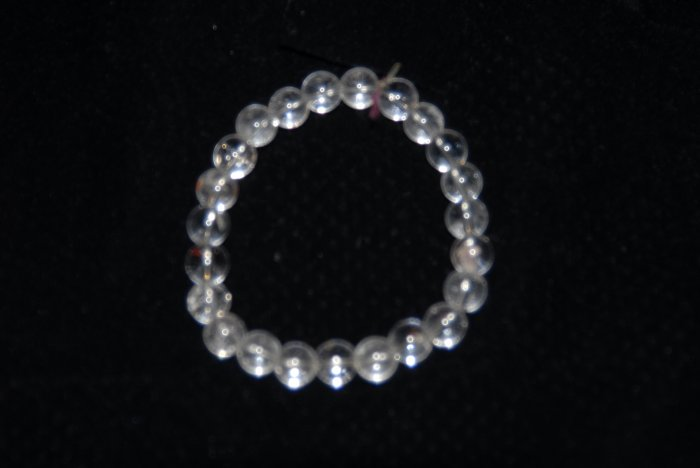 Quartz Bead Bracelet