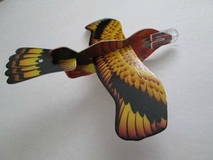 New! Set of 3 Assorted Foam Bird Gliders, Party Favor