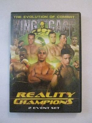 King of the Cage - Reality Champions (DVD, 2006)