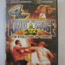King of the Cage 1-4 Event DVD set Previousely Viewed, FREE U.S. Shipping!