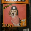Halloween Pirate Costume Set for Dogs, Cats and Most Pets, One Size