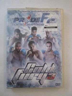 PRIDE Fighting Championships - Cold Fury 3 (DVD, 2005)