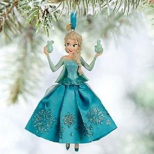 NIP Frozen ELSA Sketchbook Ornament Disney Store 2015