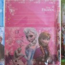 Lot of 3 Disney FROZEN Anna & Elsa Stationery Set, Letter Pad, Envelope & Pencil