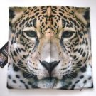 NEW! Cheetah Animal Polyester Zippered Cushion Cover Pillowcase, Free U.S. Ship!