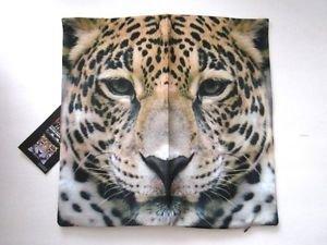 NEW! Cheetah Animal Polyester Zippered Cushion Cover Pillowcase, Free U.S. Ship!