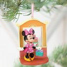 NIP Disney Store MINNIE MOUSE Pink Dress, Bakery Sketchbook Christmas Ornament