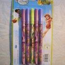NIP Disney Fairies Tinkerbell Pens, 1 pack 5pcs for School / Office Free Ship!