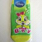 "NIP Disney Bambi ""MISS BUNNY"" Women / Teen Ankle-High Socks, S (4-7)"