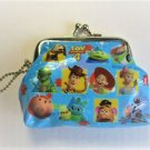 Disney Pixar Toy Story 4 Character All Star Coin Purse Gamaguchi Wallet, Blue