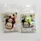 New! Set of 2 Disney Tsum Tsum Hole Sandal Shoe Charms, Mickey, Minnie, Donald