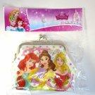 NIP Disney Princess Gamaguchi B, Ariel, Belle & Aurora Coin Purse Wallet