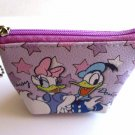 NIP Disney Mini Cosmetic Pouch / Wallet, Donald Duck & Daisy Duck, Free Shipping