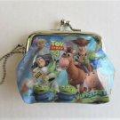Disney Pixar Toy Story 4 Buzz Woody Bo Peep Blue Coin Purse Gamaguchi Wallet