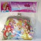 Disney Princess Rapunzel, Ariel Cinderella & Belle Gamaguchi Coin Purse Wallet F