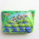 Disney Pixar TOY STORY Buzz Lightyear & LGM Alien Green Cosmetic / Makeup Pouch