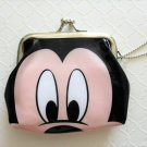 NIP Disney MICKEY MOUSE Gamaguchi Coin Purse Wallet with Chain, Free Shipping!