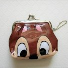NIP Disney CHIP (Chip & Dale) Gamaguchi Coin Purse Wallet with Chain, Free Ship!