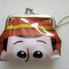 NIP Disney Toy Story WOODY Gamaguchi Coin Purse Wallet with Chain, Free Ship!