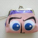NIP Disney Toy Story BUZZ Gamaguchi Coin Purse Wallet with Chain, Free Ship!