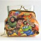 Disney Pixar Toy Story Buzz, Woody & Alien Orange Coin Purse Gamaguchi Wallet