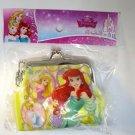Disney Princess Rapunzel, Cinderella & Ariel Gamaguchi Coin Purse Wallet H