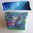 NIP Disney Mini Cosmetic Pouch / Wallet, Monsters, Inc. Mile Wazowski & Sulley