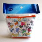 NIP Disney Mini Cosmetic Pouch / Wallet, MICKEY, MINNIE, DONALD & DAISY DUCK
