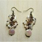New Handmade Freshwater Coin Pearl Earrings, Wedding, Bridal, Party, Costume