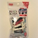 New! Mini Scale Building Block Toy Set, Ambulance Pack, Instruction, Free Ship!