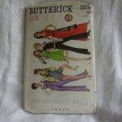 BUTTERICK PATTERN #5558