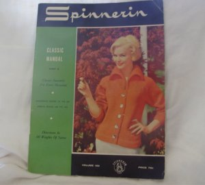 SPINNERIN CLASSIC MANUAL, Part 3, Volume 153, 1960