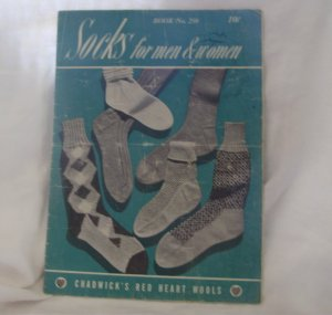 SOCKS FOR MEN AND WOMEN, Book No. 250, 1948