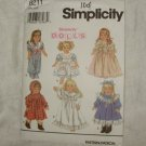 SIMPLICITY CRAFTS PATTERN #8211