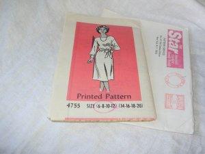 PRINTED PATTERN #4755