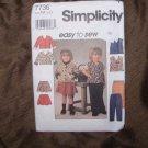 SIMPLICITY PATTERN 7736