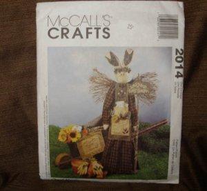 McCALL'S CRAFTS PATTERN #2014